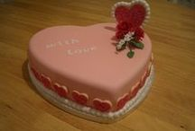 Valentine's Day / Heart Cakes