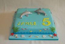 Whale / Dolphin / Shark / Sea cakes