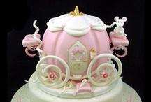Cinderella / Carriage cakes
