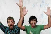 Rhett & Link / by Nancy Herschberger