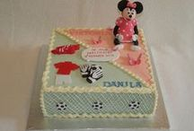 Double cakes / Cakes for twins / Both genders