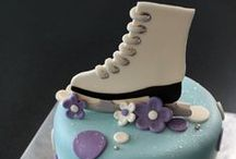 Ice Skating / Skiing / Rollerscates Cakes