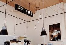 Restaurant&Coffee Shop Design! / Lighting Ideas for Restaurants, coffeeshops and coffee-bars.  Vintage, Modern or Ethnic Look!