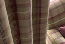 Balmoral by Porter & Stone / A lovely plaid check design.  Great for creating a cosy, rustic look.