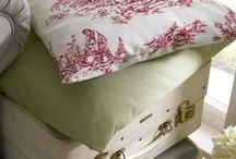 Loire Collection by Porter & Stone / A bright floral collection that takes inspiration from traditional, vintage floral fabrics