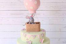 Hot Air Ballon Cakes
