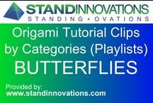 CategOrigami - Butterfly Tutorials / www.standinnovations.com assembles an ever increasing video tutorial clips from the internet and places them in boards by CategOrigamies. / by Stand Innovations