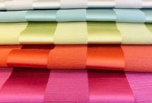 Ascot Collection by Fryetts / A plain satin fabric in a variety of colours