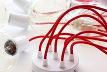Creative cables GR 2 / www.creative-cables.gr.  Vintage Lights. DIY Lamps  We have  90+ colors of Fabric cables!  Shop now - Make your own lamp.