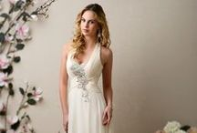 Destinations Fall / Our gorgeous collection of wedding gowns with simple silhouettes and elegant beadwork