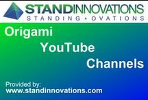Origami YouTube Channels / Compiling an ever increasing list of origami channels from YouTube  //  Provided by www.standinnovations.com / by Stand Innovations
