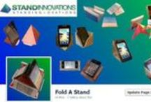 Origami Facebook Pages / Compiling an ever increasing Origami Facebook pages courtesy of www.standinnovations.com / by Stand Innovations