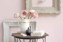 Old Pink Inspiration / inspiration for at home with old pink