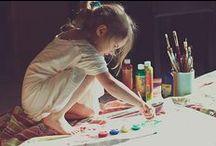 art kids /  also ideas for art lessons for school