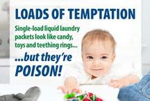 Household Product Hazards / Information & tips for safe storage of household products that could be dangerous.