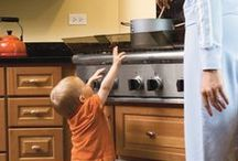 Childproof Your Home / Information and tips to make your home safe for your children or grandchildren.