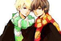 Drarry / ~^-^~ [A SNAKE IN LION'S DEN] ~^-^~ GOAL: REACH 200 PINNERS!