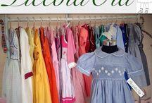 Piccola Ola clothing fo girls (punto smock, smocked) / Clothing hand made ( punto smock)