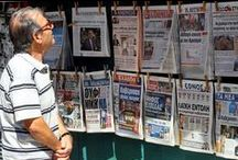 Frontpages Sat 9 May 2015 / Today's front pages in the Greek national press