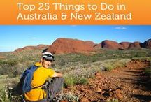 Travel: Australia and New Zealand / Highlights of traveling through Australia and New Zealand