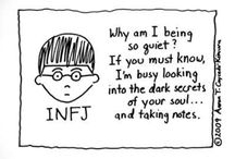 INFJ me / Welcome to my world