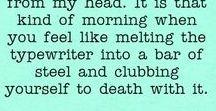 Writing & Book Humour