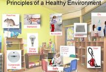 Healthy Child Care Environments / Resources and information on creating a healthy child care environment.