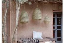 Boho Lamps and Lampshades! / Boho Lights for Home and Garden. Lampshades and More Unique Design Lights