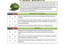 Home Maintenance / Checklists and tips on maintaining your home.