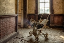 Abandoned Places & haunted houses... / by Kelita Vin-t-age