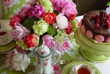 Tea Party Ideas / Tea Party Ideas - Who doesn't love preparing for a lovely tea party event? This board is about beautiful tea party ideas, table scapes, flowers, and dishes.  Tea parties are a time to bring together family and friends.