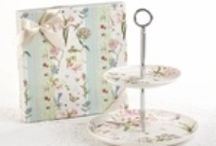Dessert and Cake Stands / Dessert Stands are the ultimate way to add height and elegance to your tea table.  They are perfect for sweet or savory treats.