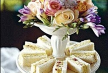 Bridal Tea Party Ideas / A tea party given for a soon-to-be bride can be one of the most special events for her and her family.  We are sharing tablescape and menu ideas that will make this a party to remember.