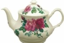 Bone China Teapots and Teaware / Bone China Teapots are not only beautiful, but symbolize elegance and style.  No tea party should be without them.