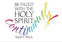 Saint-Esprit-Colombe-Pentecôte / Saint-Esprit, Colombe, Pentecôte---Holy Spirit, Dove, Pentecost / by birdyann