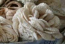 Crochet and knitting...