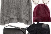 Fall/ Winter outfits / Some outfit ideas for chilly fall or winter days  / by Panda L