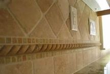 Sweet Back Splash Ideas / Want us to do your back splash! Here are some ideas for your home kitchen!