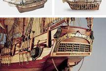 Elite Ships / Maquetas en madera de los barcos que hicieron historia. Para modelistas experimentados por su nivel de complejidad. // Historic Model Ships. For experienced Modellers due to their difficulty.