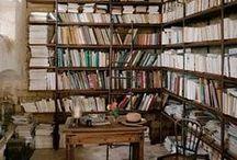 bookshops and cafés