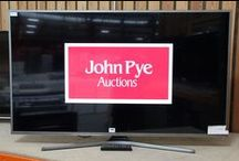 Gadgets & Technology / John Pye Auctions handles thousands of great pieces of tech each week with more than 14,000 pallets a year of Retail Technology Stock passing through our salerooms each year.  We have Digital Cameras, Games Consoles, Kitchen Appliances, HD 3D TVs, Audio Electrical Equipment, PCs, Laptops, Tablet Computers, Mobile Phones, Household Electronics & More.