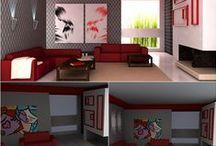 Projetos - SketchUp / By: Lorraene Fernandes Atenção, cada projeto é único, não copie!