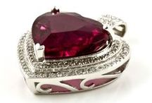 Rubellite / Beautiful rubellite gemstones and jewellery