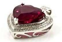 Rubellite / Beautiful rubellite gemstones and jewellery