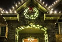 Traditions Christmas Light Work / Holiday Christmas lights for residential homes-all our work