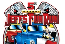 Jeff's Fun Run  / An annual poker run to help raise money for cancer research. The run was formed after the lost of Jeff Hornsby in 2009. - www.jeffsfunrun.com