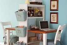 Decorating for Small Spaces / Make a pocket-size space comfortable and stylish.