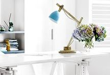 White Rooms / Create a calming atmosphere with this modern style.