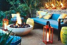 Outdoor Oasis / Outdoor furniture, design and inspiration.