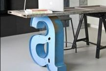 Font Fun / Stylish and fun ways to decorate with font.